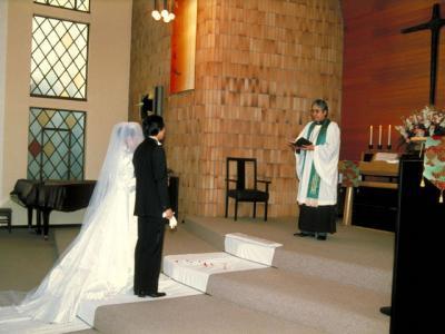 婚礼(こんれい)の意味 - goo国語辞書